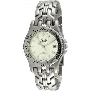 Swiss Edition Men's Luxury Bracelet Watch with Sport Bezel and Swiss Made Analog Quartz Movement