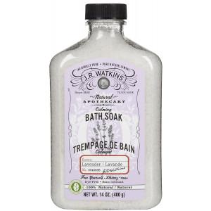 J. R. Watkins Calming Lavender Bath Soak-14 oz.