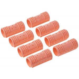"Diane Snap-on Magnetic Rollers, Pink, 1-1/8"", 8/bag"