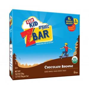 Clif Bar Zbar Og2 Choc Brownie 6/1.27Oz