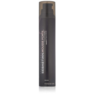 Sebastian Mousse Forte, Strong-Hold Mousse for Professional Hair Styling, 7 oz