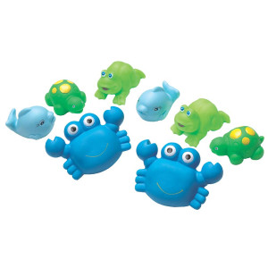Playgro 0109864 Bathtime Squirtees for Baby Infant Toddler Children, Playgro is Encouraging Imagination with STEM/STEM for a Bright Future - Great Start for a World of Learning