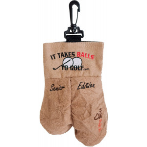 MySack Senior Edition Golf Ball Storage Bag | This Funny Golf Gift is Sure to Get a Laugh | Store Your Other Golf Accessories for Men Such as Tees and Gloves by Putting Them in This Gag Gift