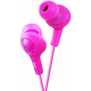JVC HAFX5P Gumy Plus Inner Ear Headphones (Pink)