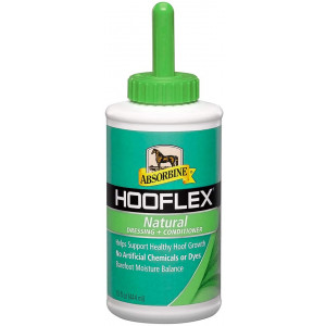 Absorbine Hooflex All Natural Dressing and Conditioner, 15oz, Includes Applicator Brush
