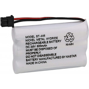 Kastar Cordless Phone Battery Replacement for Radio Shack 23-961 23-904 43-5561 43-5562 43-5862 and Uniden BT-446 BP-446 BT1005 BBTY0457001 BBTY0458001