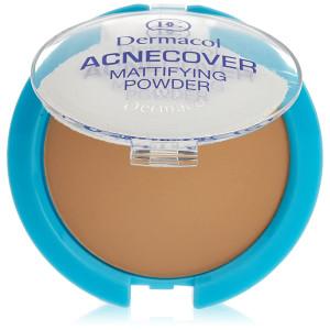 Dermacol Cosmetics Acnecover Mattifying Compact Powder 11g (Honey)