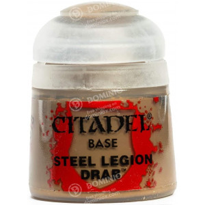Games Workshop Citadel Base: Steel Legion Drab
