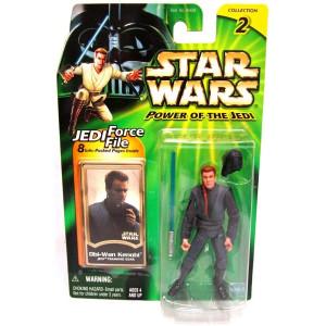 Star Wars: Power of the Jedi Obi-Wan Kenobi (Jedi Training Gear) Action Figure