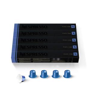 Nespresso Capsules OriginalLine, Vivalto Lungo, Medium Roast Coffee, 50 Count Coffee Pods, Brews 3.7oz