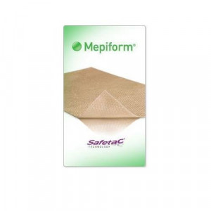 "Mepiform Silicone Scar Treatment, 1.6"" x 12"", ONE Sheet."