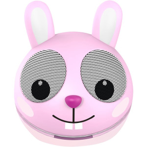Zoo-Tunes Portable Mini Character Speakers for MP3 Players, Tablets, Laptops etc. (Rabbit)