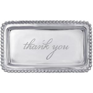 "Mariposa ""thank you"" Tray"