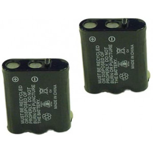 Synergy Digital Cordless Phone Batteries, Works with Panasonic P-P511 Cordless Phone, Combo-Pack Includes: 2 x BATT-511 Batteries