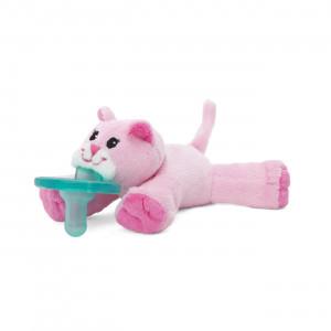 WubbaNub Pink Kitty Pacifier
