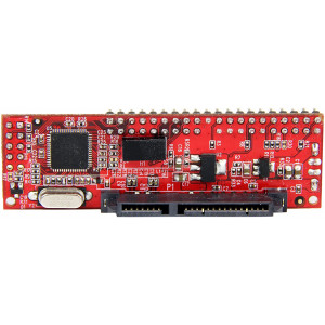 "StarTech.com IDE to SATA Hard Drive or Optical Drive Adapter Converter - 40-Pin PATA to 2.5"" SATA HDD / SSD / ODD Converter (IDE2SAT2)"