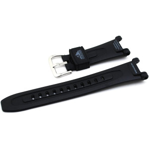 Casio Black Resin Pathfinder Series Watch Band - 18mm