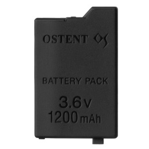 OSTENT 1200mAh 3.6V Lithium Ion Rechargeable Battery Pack Replacement for Sony PSP 2000/3000 PSP-S110 Console