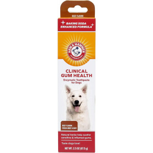 Arm and Hammer Dog Dental Care Toothpaste for Dogs | No More Doggie Breath with Enzymatic Dog Toothpaste for Dogs in Chicken Flavor with Fresh Mint Scent | Dog Toothpaste is Safe for Puppies