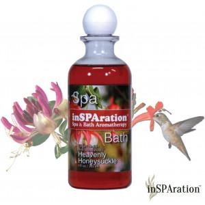 inSPAration Spa and Bath Aromatherapy 118X Spa Liquid, 9-Ounce, Heavenly Honeysuckle