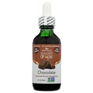 SweetLeaf Sweet Drops Liquid Stevia Sweetener, Chocolate, 2 Ounce