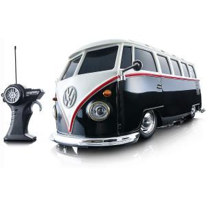 Maisto R/C 1:24 Scale Volkswagen Van Samba Radio Control Vehicle (Colors May Vary)