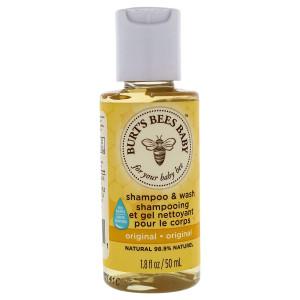 Burt's Bees Baby Bee Travel Size Shampoo and Wash - 1.8 oz