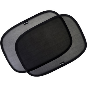 """Enovoe Car Window Shade - (4 Pack) - 19""""x12"""" Cling Sunshade for Car Windows - Sun, Glare and UV Rays Protection for Your Child - Baby Side Window Car Sun Shades"""