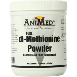 AniMed Dl-Methionine Pure for Horses, 16Oz