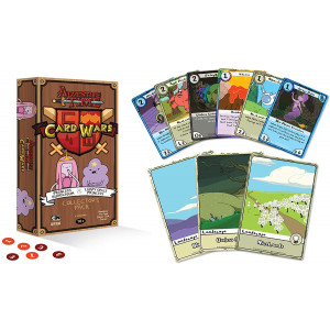 Adventure Time Card Wars Collector's Pack 3: Princess Bubblegum vs. LSP Game