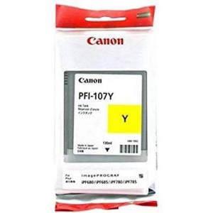 Canon PFI-107Y Ink Cartridge - Yellow