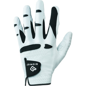 Bionic Gloves Men's StableGrip Golf Glove W/ Patented Natural Fit Technology Made from Long Lasting, Durable Genuine Cabretta Leather.