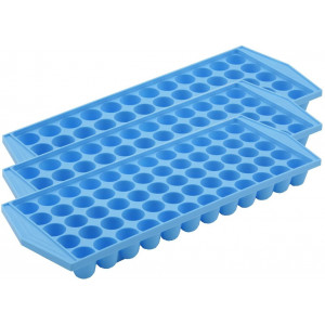 Arrow Home Products Arrow 60 Cube Ice Tray (3 Pack),Blue