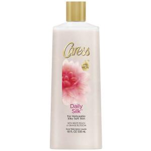 Caress Body Wash 18 Ounce Daily Silk (Silkening) (532ml) (2 Pack)