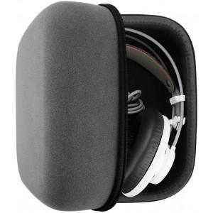 Geekria UltraShell Headphone Case for AKG K240, K242, K550, K601, K701, K702, K240 MKII, K271 MKII, Q701 Headphones - Replacement Large Hard Shell Travel Carrying Bag