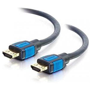 C2G 29678 4K UHD High Speed HDMI Cable with Gripping Connectors (60Hz) Black (10 Feet, 3.04 Meters)