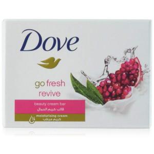 Dove Beauty Cream Bar Soap, Go Fresh Revive, 100 G / 3.5 Oz Bars (Pack of 12)