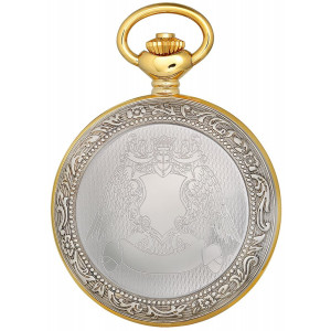 Charles-Hubert, Paris Classic Collection Mechanical-Hand-Wind Pocket Watch (Model: DWA013)
