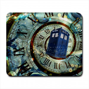 Tardis Doctor Dr Who Police Box Mice Custom Design Cool Gaming Mousepd Mouse Pad Mat 12