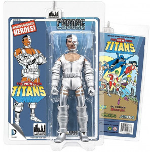 The New Teen Titans Retro 8 Inch Action Figures Series 1: Cyborg