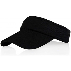 Multiple Colors Sun Visors for Women and Girls, Long Brim Thicker Sweatband Hat