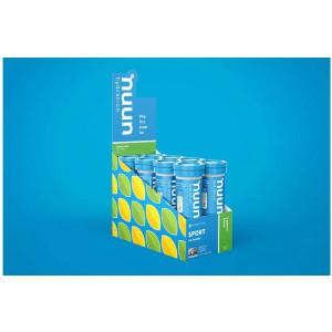 Nunn Effervescent Electrolyte Hydration Supplement Lemon + Lime (8 1.8 oz. Tubes)