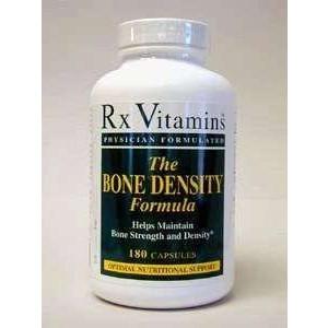 Rx Vitamins - Bone Density Formula 180 Capsules