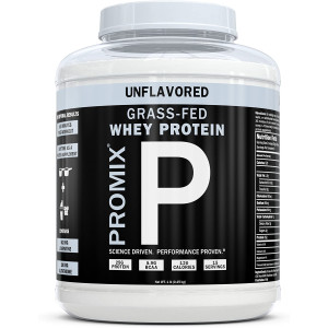 ProMix Nutrition Container of Unflavored Grass-Fed Whey Protein, 1 Pound