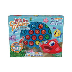 Let's Go Fishin' Combo Game, Includes Go Fish Card Game