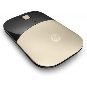 HP 2.4GHz Wireless USB Mouse Z3700 (Matte Gold/Glossy Black), Modern Gold