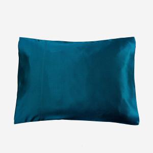 LilySilk 3101-11-30x40 100% Silk Pillowcase for Travel Pillows, 12 x 16, Dark Teal