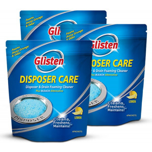 Gisten Disposer Care Garbage Disposal Cleaner, Lemon, 12 Uses