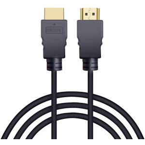 HDMI Cable 3.3 Feet, Supports Ultra HD, 3D, 1080p, Ethernet and Audio Return (HDMI Cable)