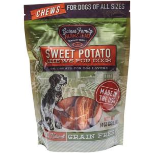 Gaines Family Farmstead Sweet Potato Dog Chews, USA Made, Natural